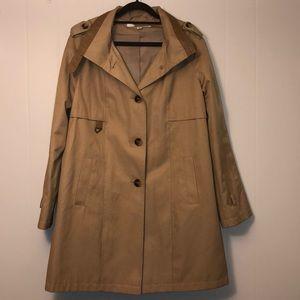 DKNY trench coat pea coat